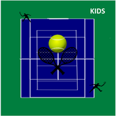 Tennis Ball Match for Kids icon
