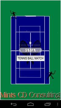 Tennis Ball Match for Kids poster