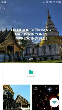 Chiang Mai Travel Guide in English with map screenshot 2
