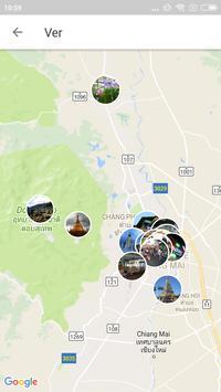 Chiang Mai Travel Guide in English with map screenshot 3