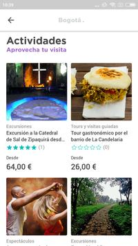 Bogotá Travel Guide in English with map screenshot 1