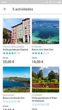 Baiona Travel Guide in English with map screenshot 1