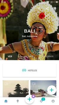 Bali Travel Guide in English with map poster