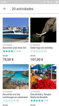 Bali Travel Guide in English with map screenshot 1