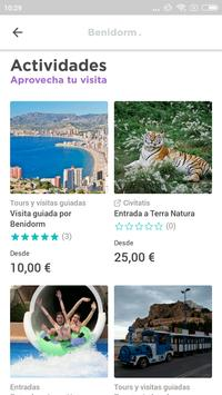 Benidorm Travel Guide in English with map screenshot 1