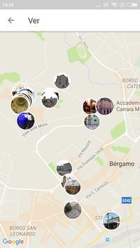 Bergamo Travel Guide in English with map screenshot 3