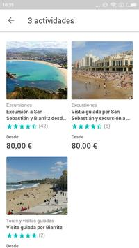 Biarritz Travel Guide in English with map screenshot 1