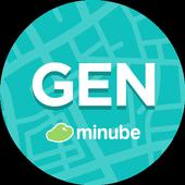 Genova Guía turística en español y mapa icon