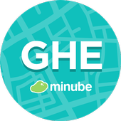 Ghent Travel Guide in English with map icon