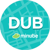 Dublin Travel Guide with map icon