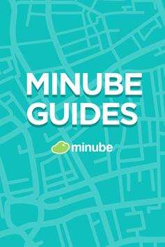 Dublin Travel Guide with map poster