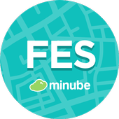 Fes Travel Guide in English with map icon