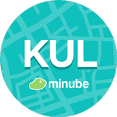 Kuala Lumpur Travel Guide in English with map icon