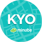 Kyoto Travel Guide in English with map icon