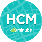 Ho Chi Minh Travel Guide in English with map icon