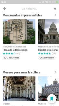 La Habana Travel Guide in english with map screenshot 2