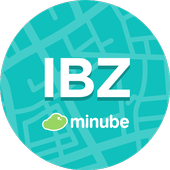 Ibiza Travel Guide in English with map icon
