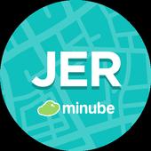 Jerez de la Frontera Guide in English with map icon