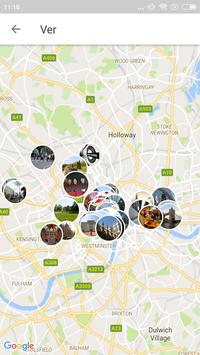 London Travel Guide in English with map screenshot 3