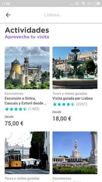 Lisbon Travel Guide in English with map screenshot 1