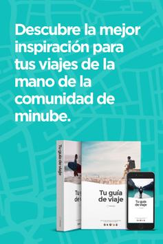 Malaga Travel Guide in English with map poster
