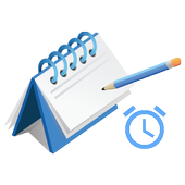(R)Daily day( D Day, easy ), schedule Management icon