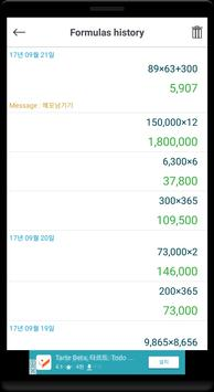 Left hand user calculator app screenshot 4