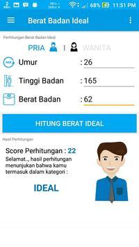 Berat Badan Ideal screenshot 2