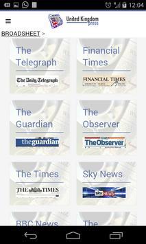 UK Press apk screenshot