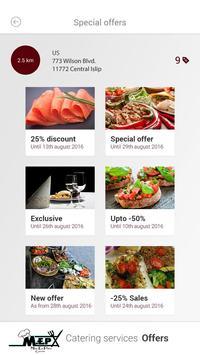 Mise en Place Catering apk screenshot
