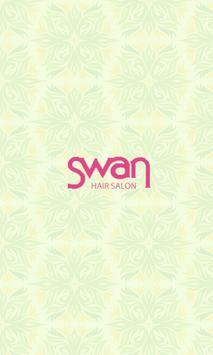 ヘアーサロン swan poster