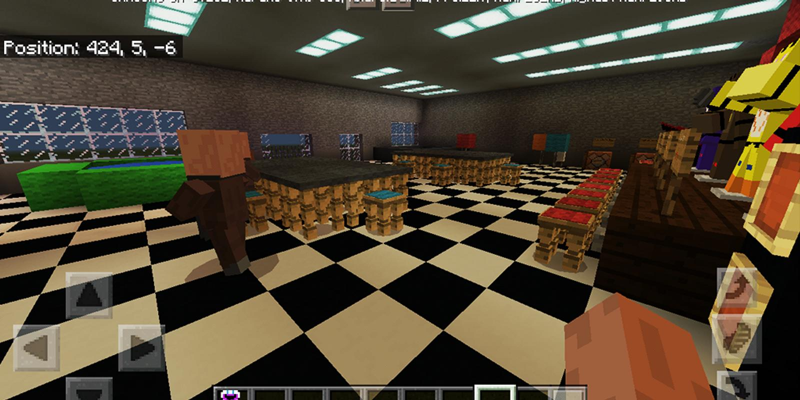 FNAF:Pizzeria Simulator. Map for MCPE for Android - APK ...