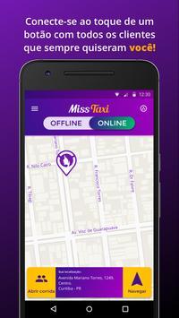 Miss Taxi Motorista apk screenshot