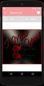 Miss You Animated GIF screenshot 2