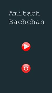 Button Amitabh bachchan poster
