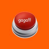 Button Lady Gaga icon