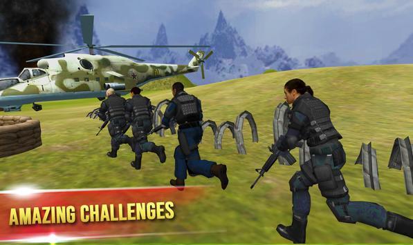 Mission Counter Terrorist : Gorilla commando game poster