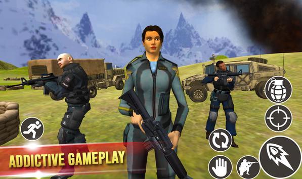 Mission Counter Terrorist : Gorilla commando game screenshot 1