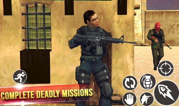 Mission Counter Terrorist : Gorilla commando game screenshot 4