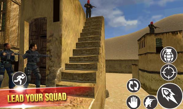 Mission Counter Terrorist : Gorilla commando game screenshot 8