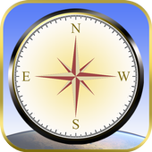 Fast Mobile Compass, Find Location World Wide icon