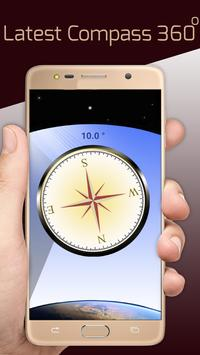 Fast Mobile Compass, Find Location World Wide screenshot 1