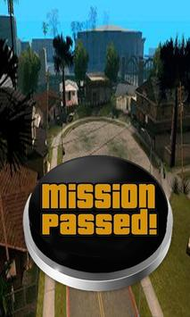Mission Passed Button poster