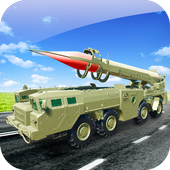 Missile Attack Army Truck icon