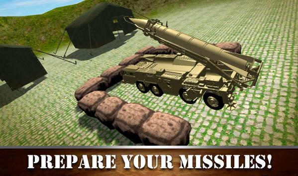 Missile Attack Army Truck screenshot 3