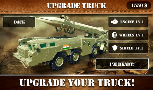 Missile Attack Army Truck screenshot 1