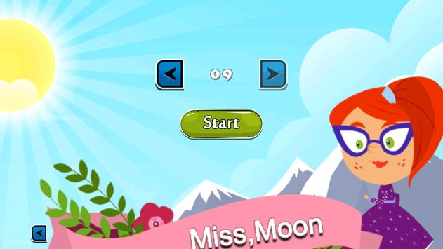 Miss beautiful moon adventure screenshot 1