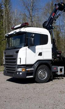 Wallpapers Best Scania Truck Poster Apk Screenshot
