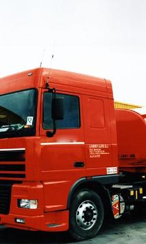 Wallpapers DAF XF 95 poster