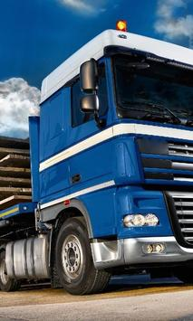 Wallpapers DAF XF poster
